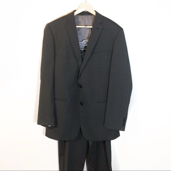 Calvin Klein Other - Calvin Klein | Mens 100% Wool Grey Suit 36W 42L
